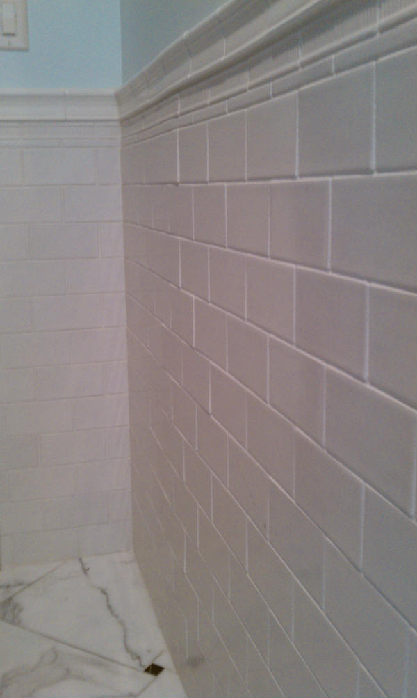 handmade look subway tile american olean subway tile look handmade 6977